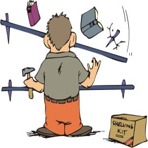 zum Beispiel als Heimwerker bei notwendigen Reparaturen