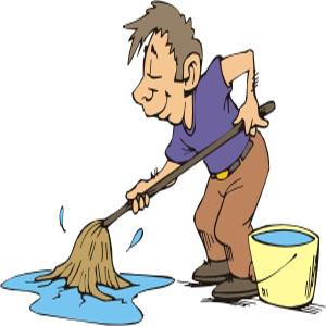 zum Beispiel wenn Du in Deiner Wohnung einen Wasserrohrbruch hattest